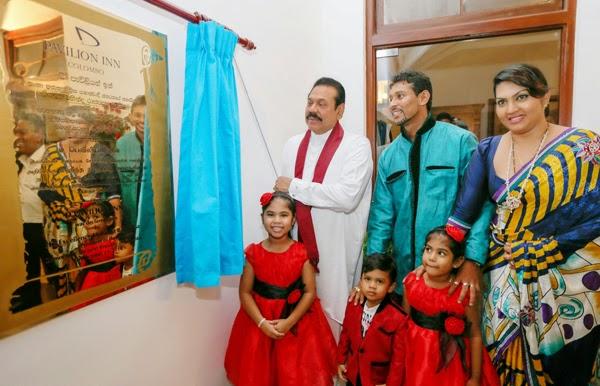 Cricketer TM Dilshan's Hotel D Pavilion Inn Hotel Colombo Sri Lanka