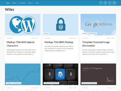 Download Tema WordPress Wiles