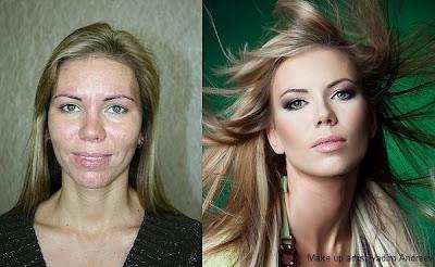 maquillaje para una chica fea