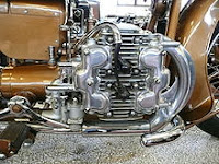 Brough Superior H4 Motorcycle engine