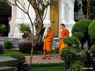 CEMENTERIO REAL WAT RATCHABOPHIT, BANGKOK. TAILANDIA