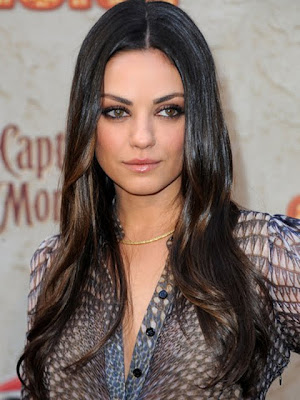 Mila Kunis Gold Choker Necklace