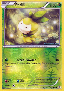 Petilil Boundaries Crossed Pokemon Card