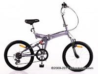 Sepeda Lipat UNITED QUEST 20 Inci