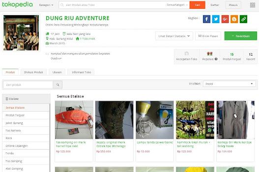 Anda juga bisa belanja di Toko Online via Tokopedia.com, lebih banyak pilihan di etalase..