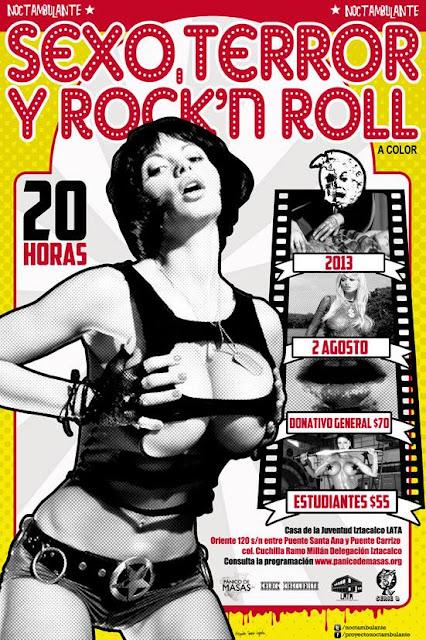 20 horas de Sexo, Terror y Rock&Roll con Proyecto Noctambulante