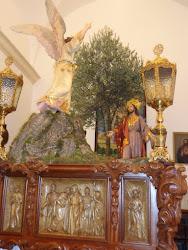 Jesús en el Huerto de los Olivos.Hermandad de Ntra. Sra. de la Soledad, Calzada de Calatrava