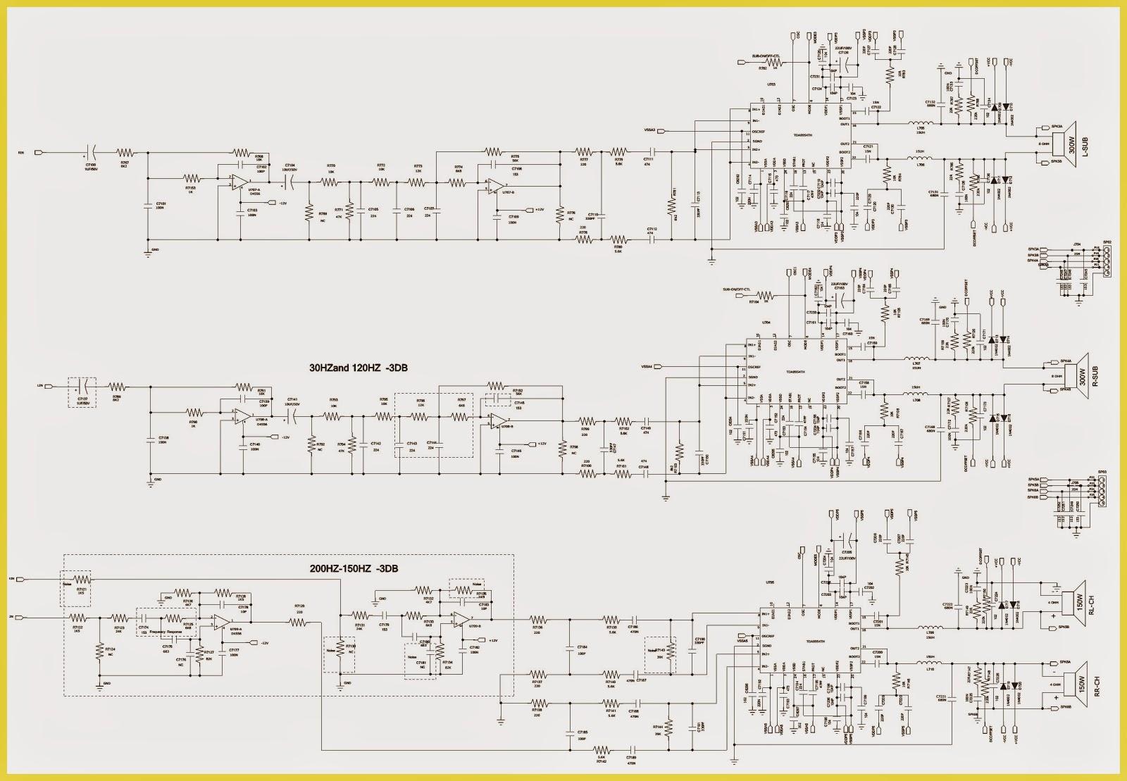 PHILIPS FWT9200 – MINI Hi-Fi SYSTEM - SCHEMATIC DIAGRAM | Electro help