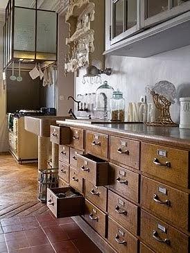 Estudio felip n del pasado al presente for Muebles de cocina antiguos