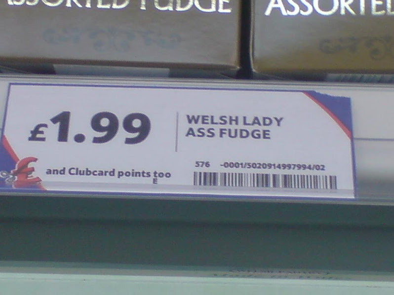 Doesn't sound very appetising!