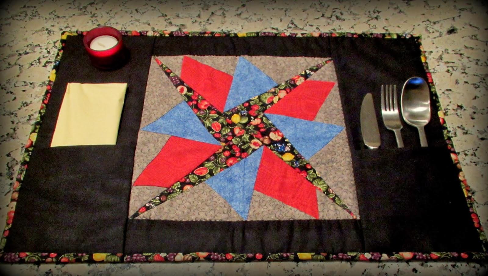 Momentos de patchwork mantel individual - Patchwork en casa patrones ...