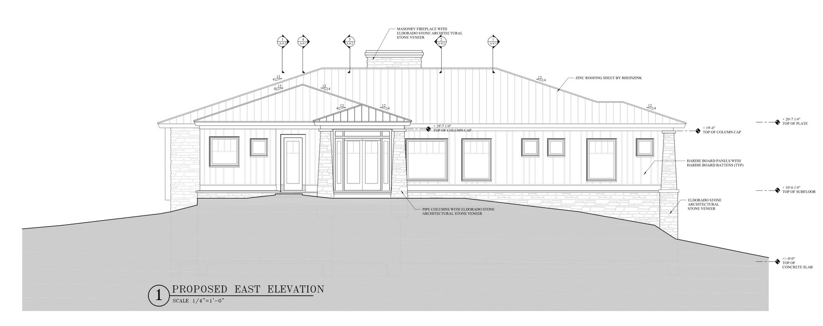 News From The Hill: House Exterior Drawings