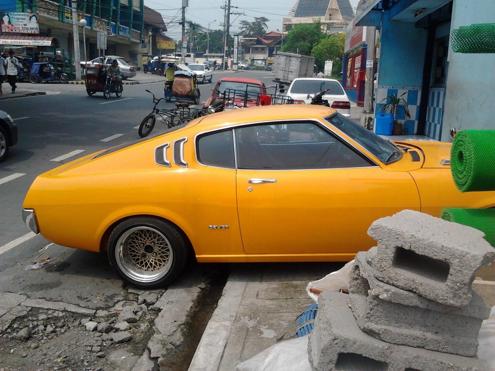 Parked Cars Manila: 1977 Toyota Celica Fastback