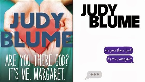 Judy Blume, Are You There God? It's Me, Margaret, old and new covers