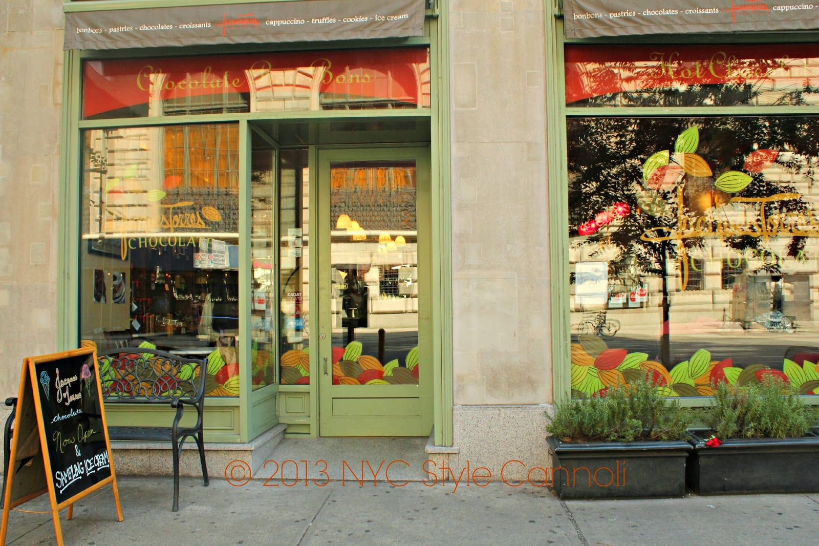 NYC, Style and a little Cannoli: Jacques Torres on the Upper West Side
