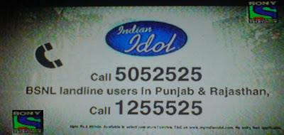 Indian Idol 6 Phone Registration