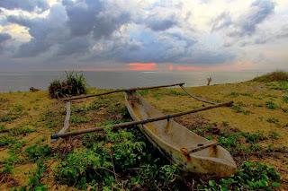 FOTO SUNSET INDONESIA INDAH Pantai Tianggulasi Banyuwangi