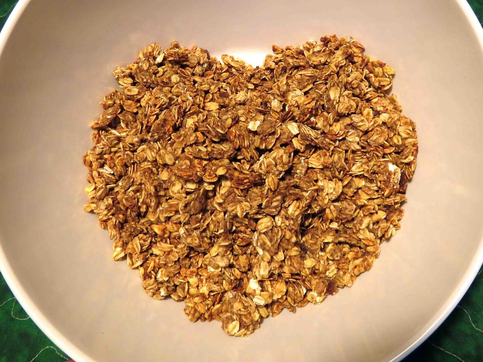 granola no oil or sugar