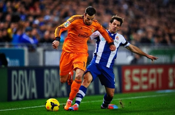 Espanyol vs Real Madrid First Leg Copa del Rey 2014