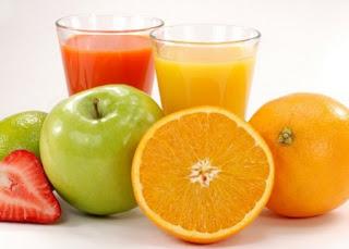 Como limpiar el colon consumiendo jugos de fruta