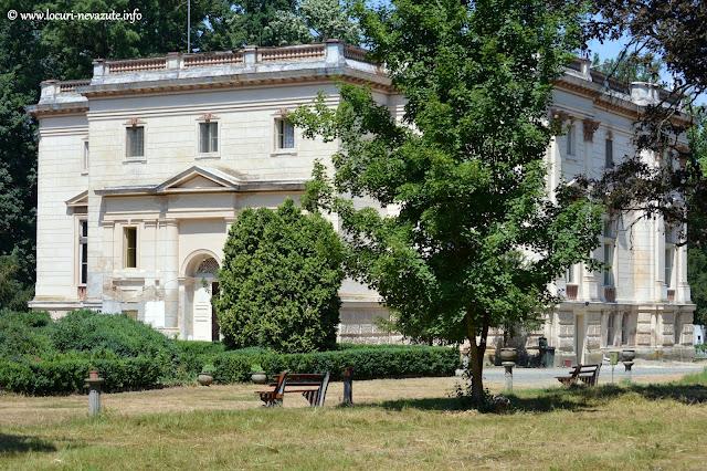 Castelul Mocioni din satul Capalnas, comuna Birchis