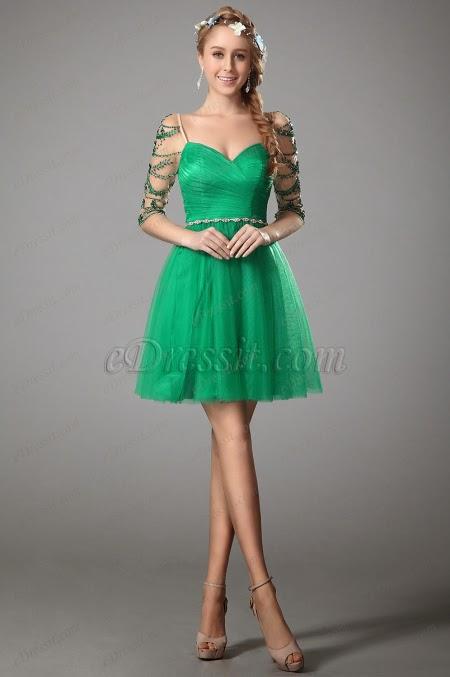 Красивые разные платья
