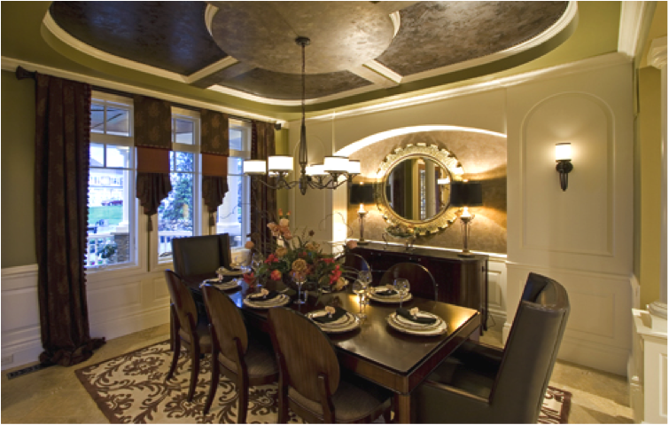 sacksteder's interiors: the fancy on formal dining