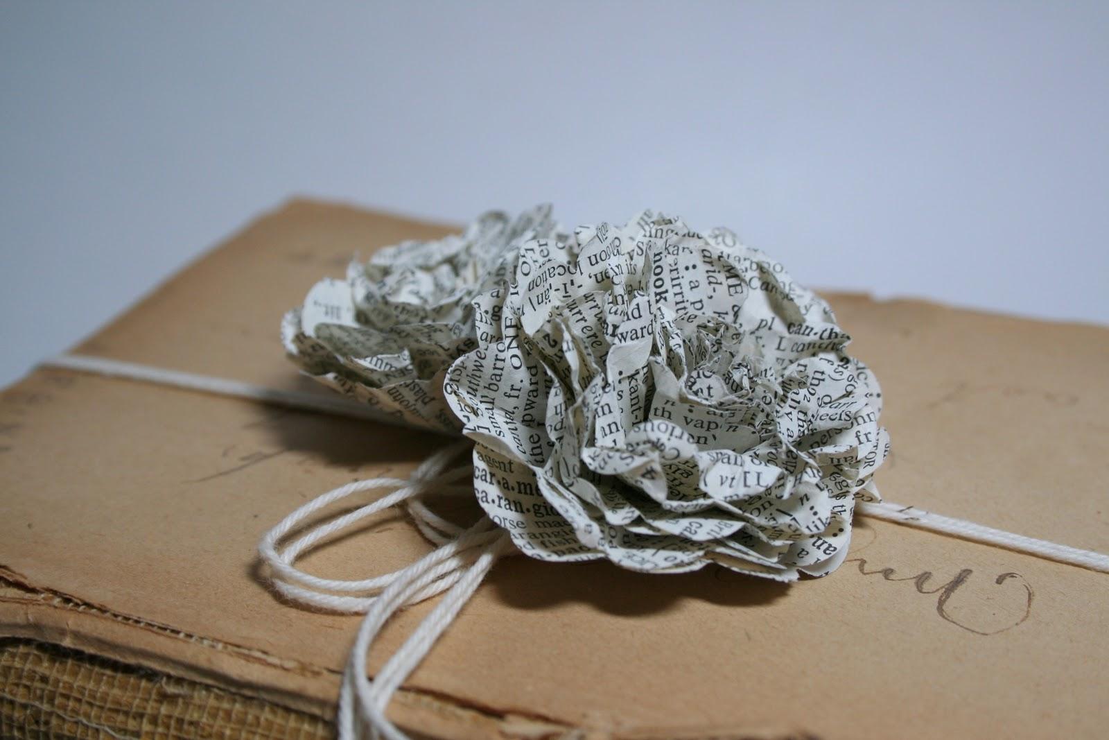 Bursts Of Creativity Easy Paper Flower Tutorial