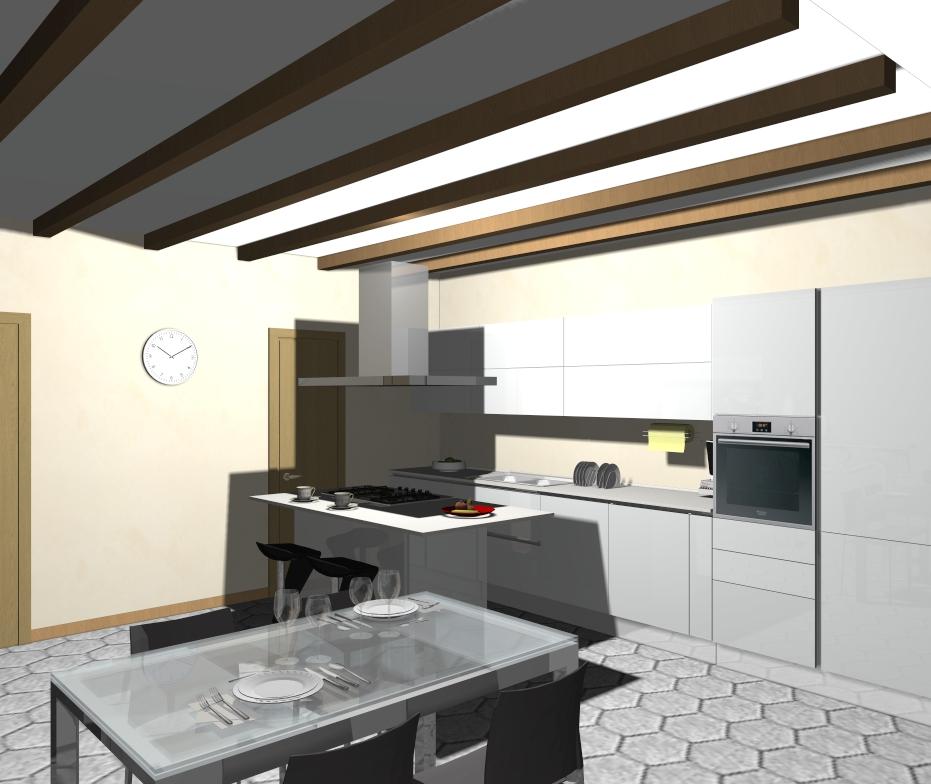 Domus arredi crea con veneta cucine la tua cucina lineare - Cucine la veneta ...