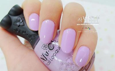 Pastel Violet NAIL ART