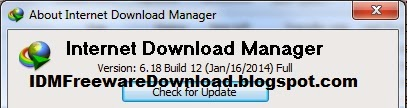 Internet Download Manager (IDM) 6.18 Build 12