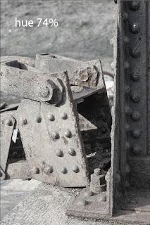 rusty girders at mill ruins park Minneapolis Minnesota