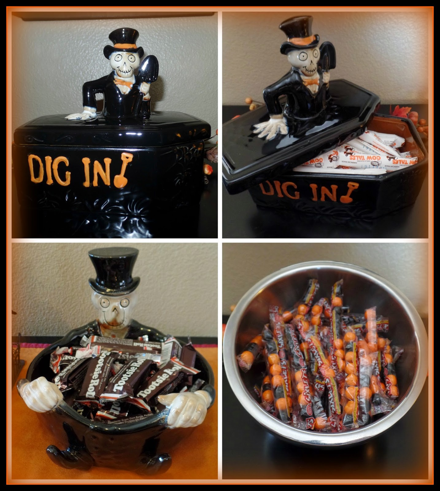 April's Homemaking: 2014 Halloween Home Tour and Boney Bunch ...
