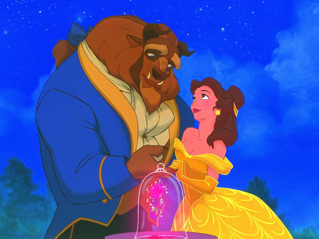 Free Desktop Wallpaper: Disney Beauty and The Beast Wallpaper