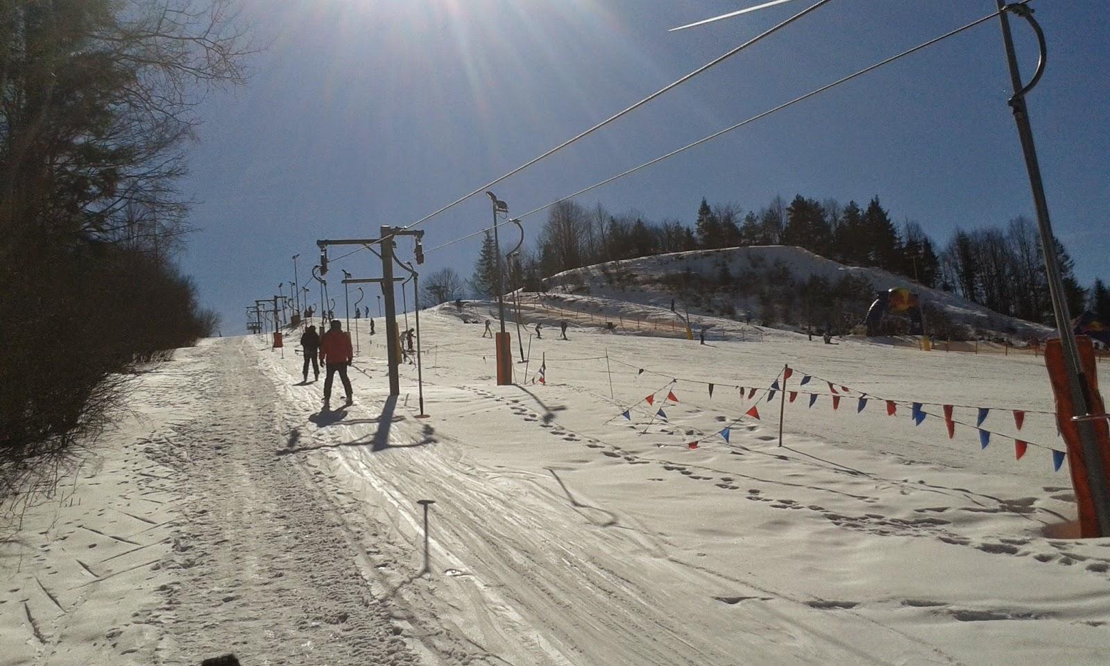 wyciąg narciarski na Szafranówkę