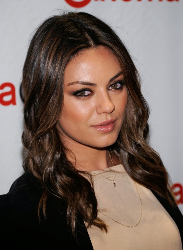 Latest Fashion Trends Mila Kunis With Latest And Trendy Hairstyles 2014
