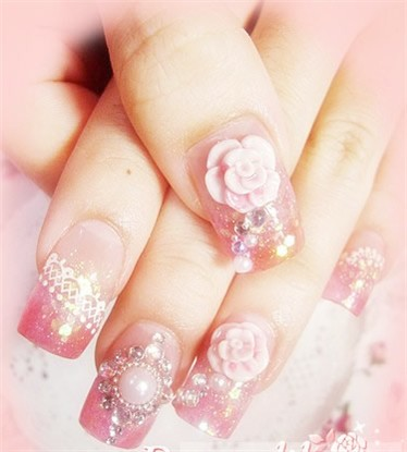 rose nail art rose nail art rose nail art add caption