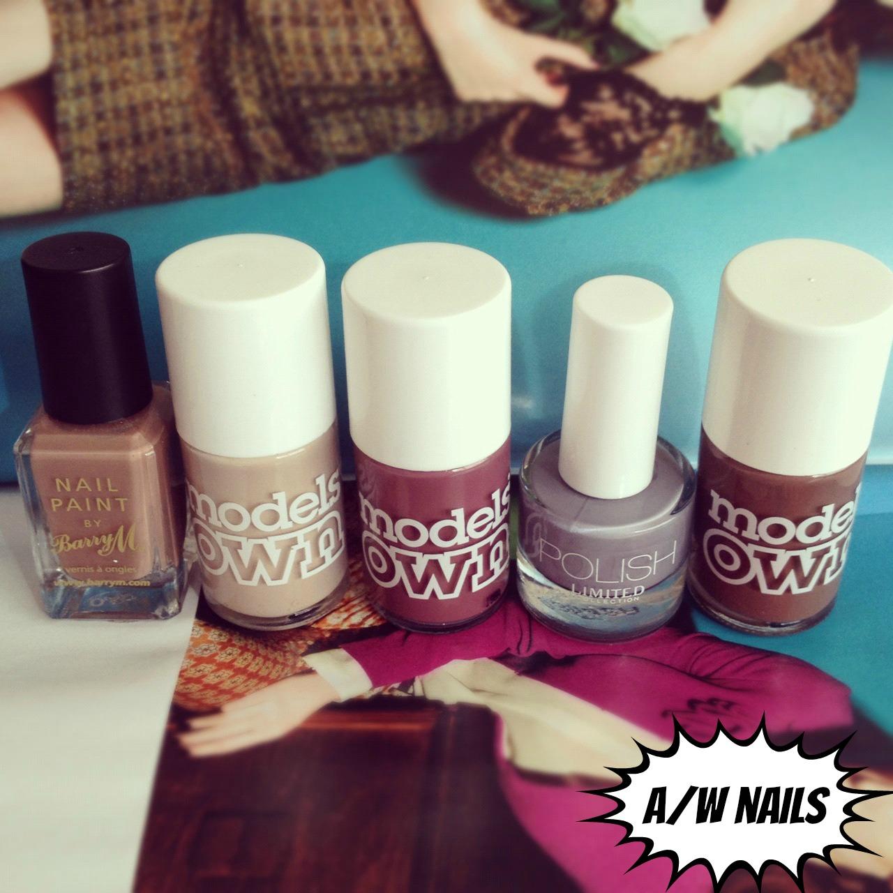 autumn/winter nail polish swatches! | BURKATRON