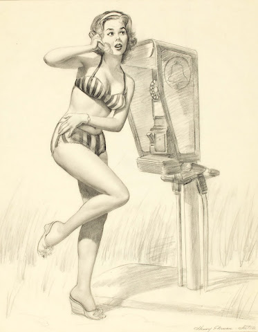 classic pin up girl