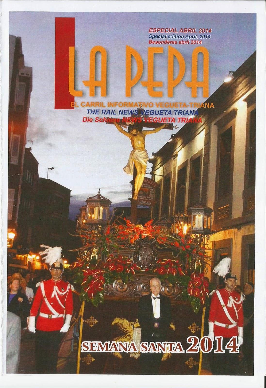 REVISTA LA PEPA ESPECIAL SEMANA SANTA 2014