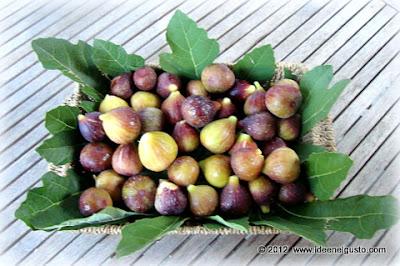 fichi, cesto di fichi , figs