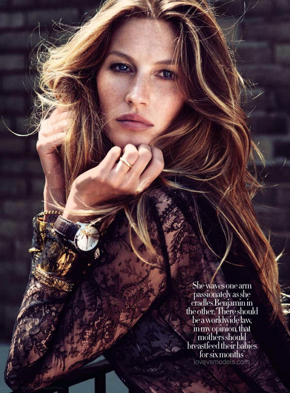 Gisele Bündchen (Harper's Bazaar Sep 2010) HQ - Models Inspiration Gisele Bundchen