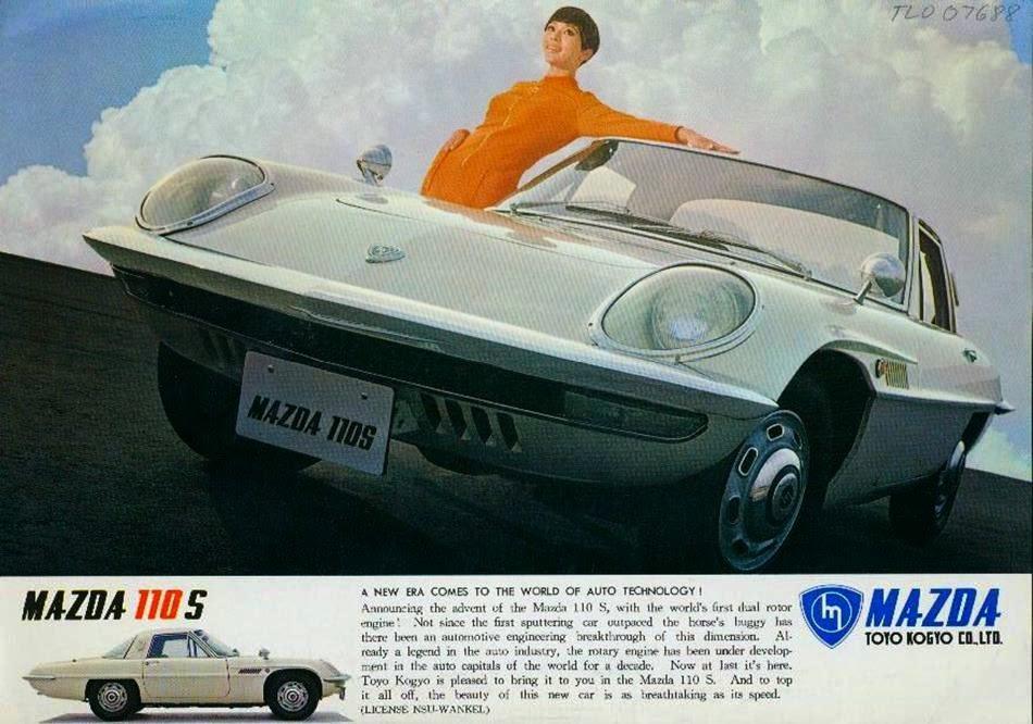 Mazda Ad 1967 Toyo Kogyo