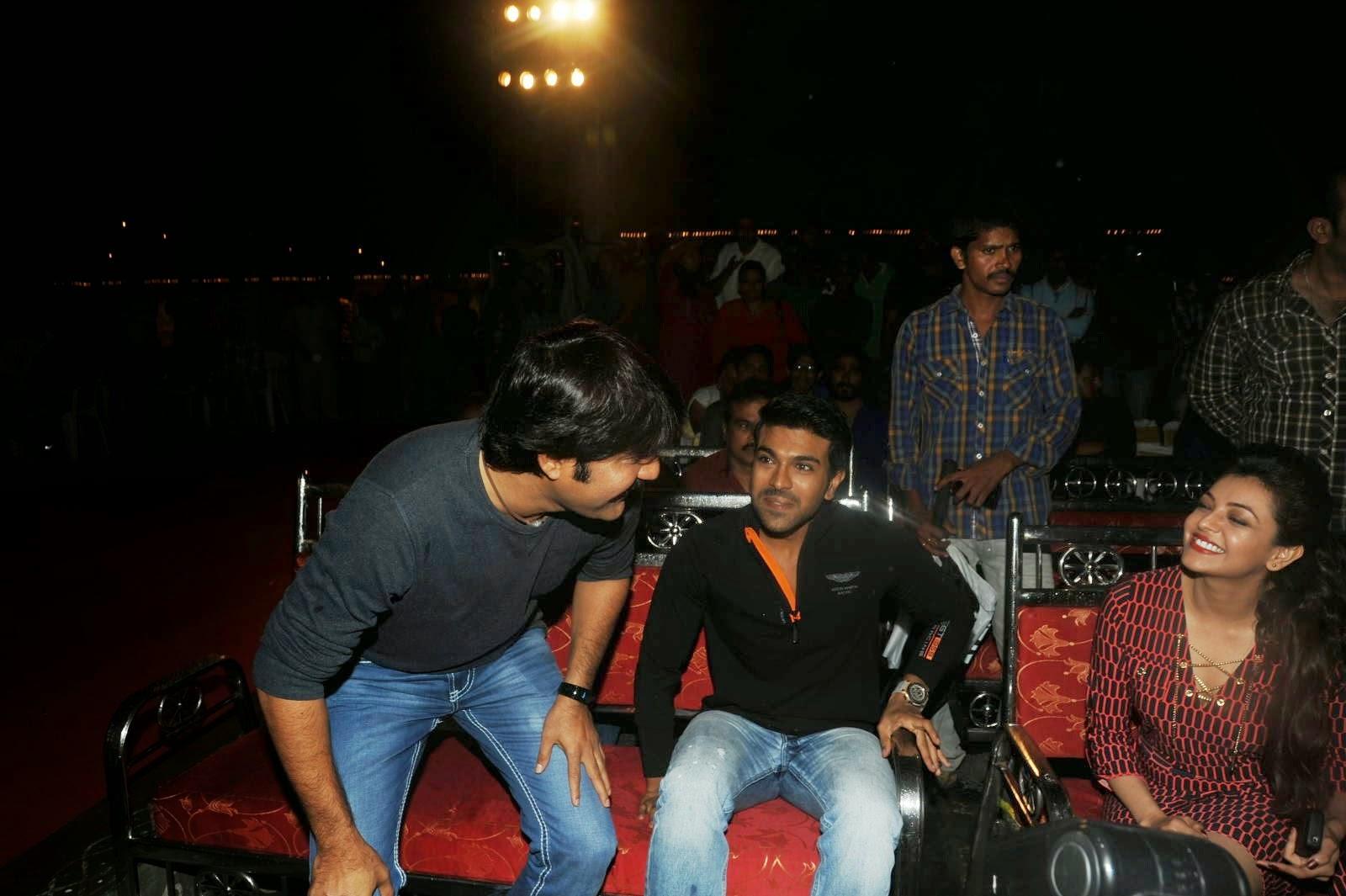 Ram charan | Kajal | Govindhudu andarivadele Teaser Launch Photo