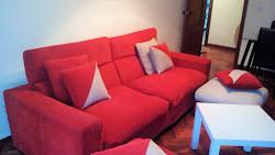 Piso de tres dormitorios en alquiler en Avd. de Finisterre, amueblado. 480€