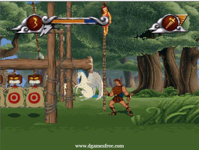 video juego hercules: