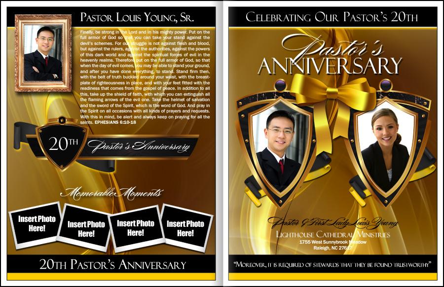 Pastor Anniversary: Pastor Anniversary Programs