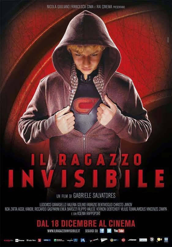 IL RAGAZZO INVISIBILE, RECENSIONE DEL PRIMO FILM ITALIANO DI SUPEREROI DI GABRIELE SALVATORES - [MOVIES & STRIPS]