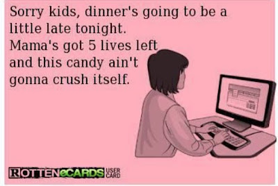 My Top Mom Addictions - #3 Candy Crush ~ TheQuirkyConfessions.com