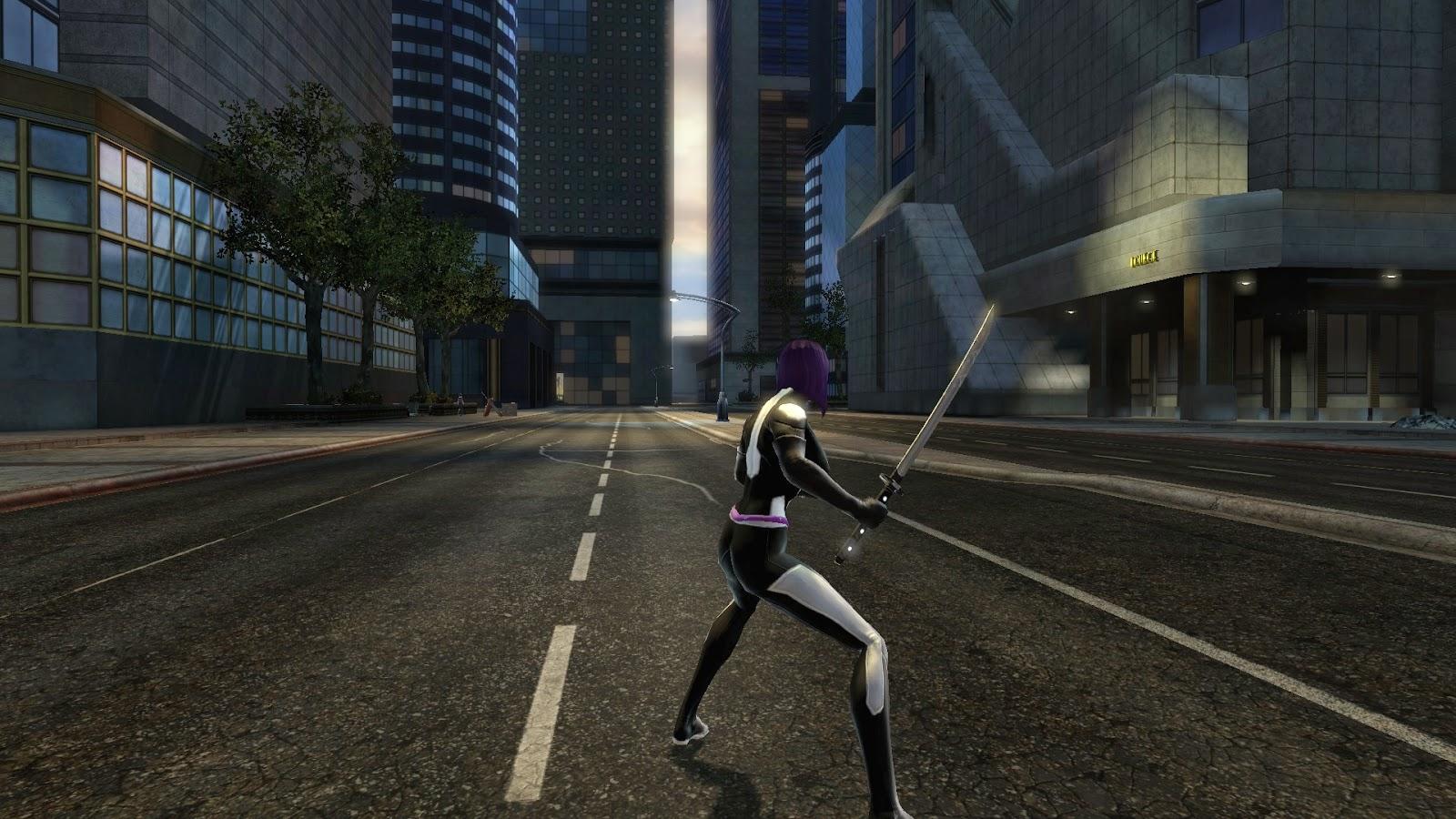 Marvel Universe Online: Psylocke - Marvel Now Marvel Now Psylocke